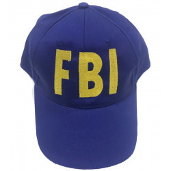 Gorra FBI azul royal