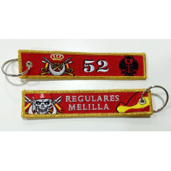 Llavero regulares Melilla 52