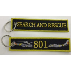 "Llavero tela SAR 801 ""Search & Rescue"""