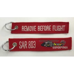 "Llavero SAR 803 ""Search & Rescue"" Remove before flight"