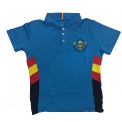 Polo mujer Academia General del Aire Azul turquesa Dry Fresh