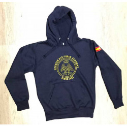 "Sudadera "" Spanish Air Force Academy "" since 1943 A.G.A."