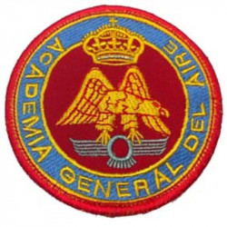 Parche Academia General del Aire color. Escudo bordado